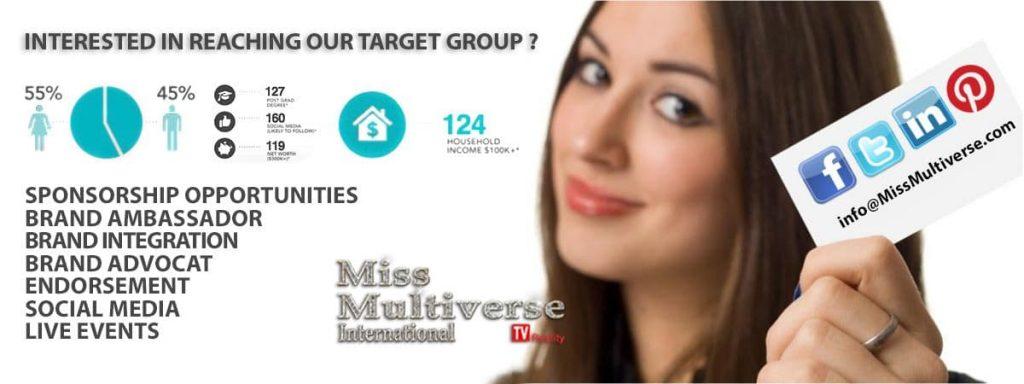 Miss Multiverse Networking models