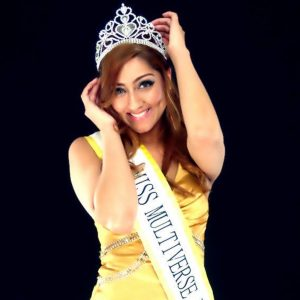 Miss Multiverse Official Country Sash